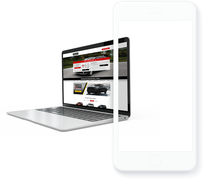 site web concessionnaire auto mobile desktop